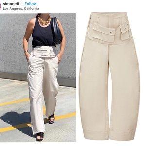 Simonett radea pants beige